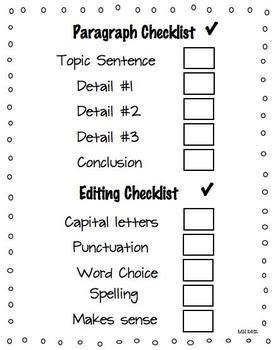 Five paragraph essay rubric middle school